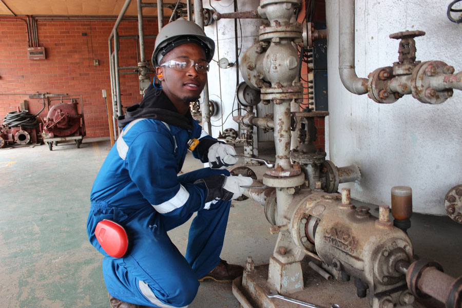 Engen Helps Tackle Unemployment Through Learnership