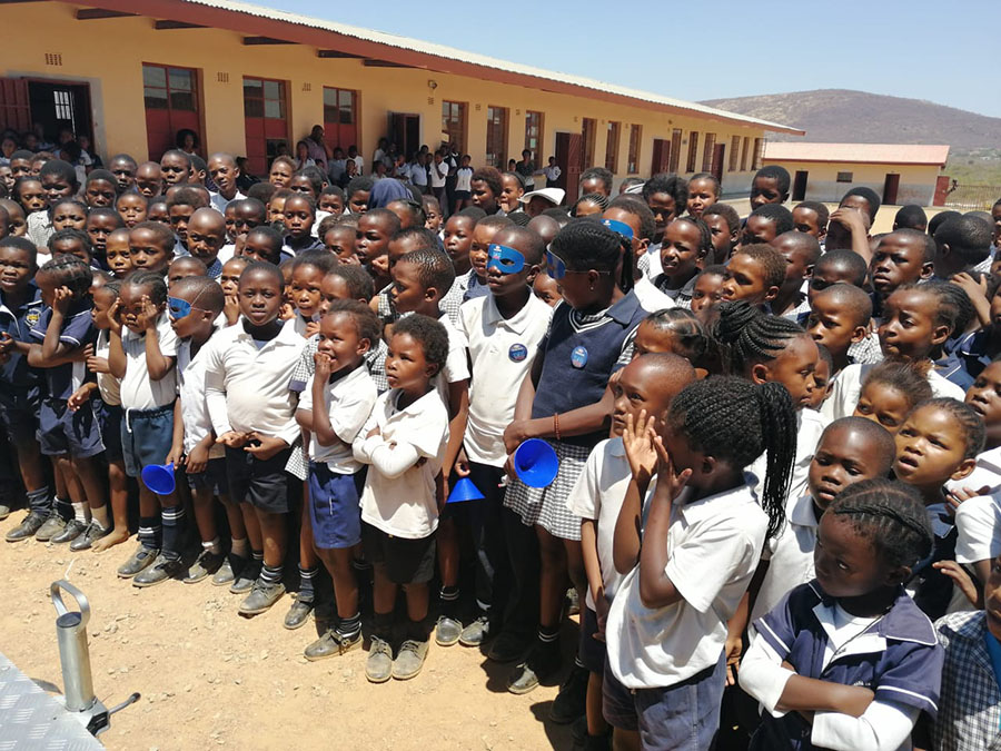 sa good news brand south africa Nthebe Primary school  - Engen Safety First Campaign for Primary Schools
