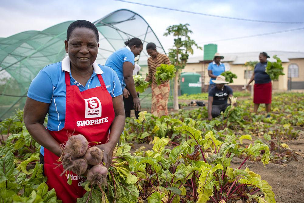 sa good news brand south africa rural gardens - Community champions help rural orphans