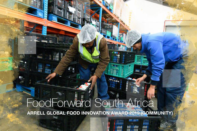 sa good news brandsa Arrell Global Food Innovation Award 2019 FoodForward SA - FoodForward SA achieves global recognition for its food security efforts