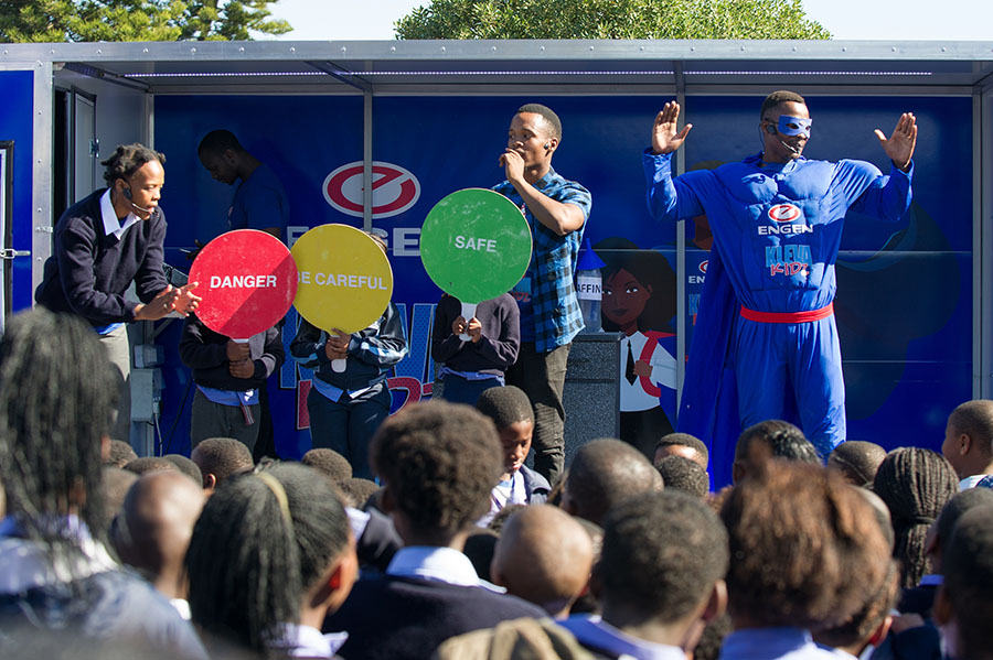 sa good news brandsa engen parafin safety - Engen Safety First Campaign for Primary Schools