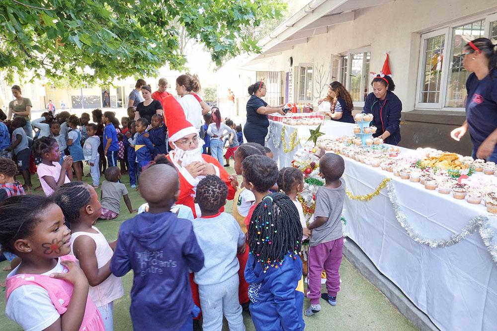 sa good news brandsa The TMACC team  - Christmas came early for the Philippi Children's Centre