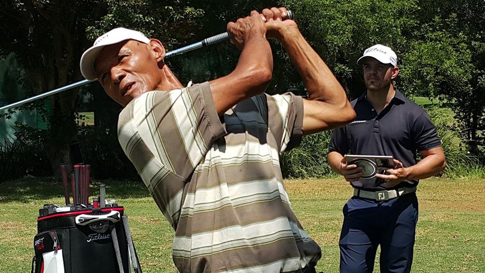 sa good news brandsa Llewellyn Barnes - Homeless Caddie Qualifies for Professional Golf Tour