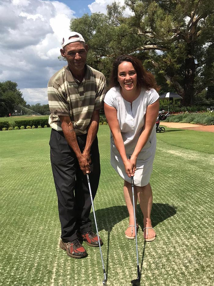sa good news brandsa llewellin barnes - Homeless Caddie Qualifies for Professional Golf Tour