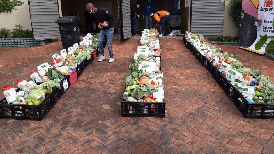 sagoodnews brandsa food donation - Food in Motion Supports Alexandra Initiative