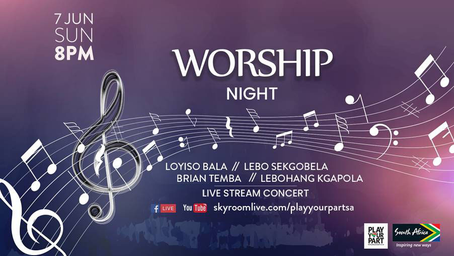 sagoodnews brandsa night worship - Inaugural Play Your Part Worship Night Concert to be Headlined by Lebo Sekgobela and Brian Temba