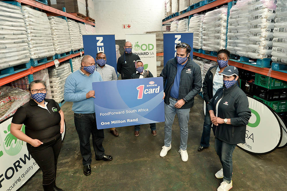 sagoodnews engen Andy du Plessis - Engen Pledges R1m Fuel to FoodForward SA