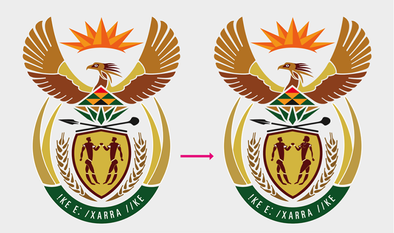 sagoodnews south africa coatofarms - Prominent Voices in SA Call for Change to Our Coat of Arms