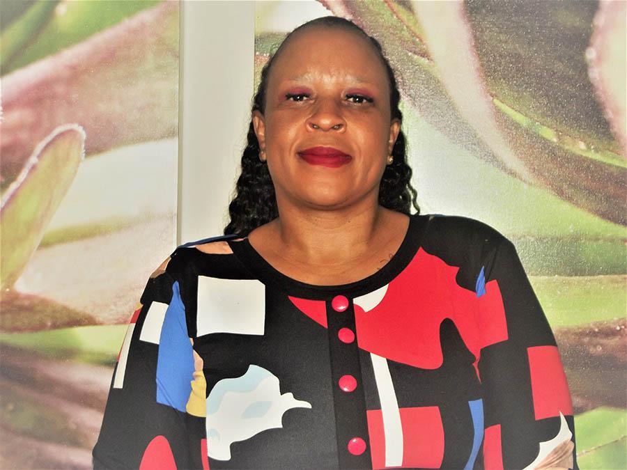 Mary Makgaba.POWA CEO - POWA #EndDomesticSilence